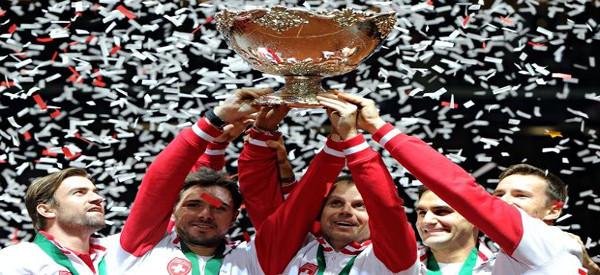 Roger Wins Davis Cup
